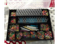 childrens toys - loom band and organiser box