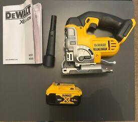 DeWalt DCS331 18V Jigsaw, with battery, brand new never used