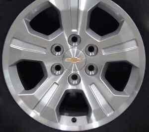 Chevrolet Silverado OEM wheels plus Wrangler tires brand new Cambridge Kitchener Area image 1