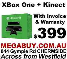 New XBox One + Kinect Bundle - Just $399!!! Chermside Brisbane North East Preview