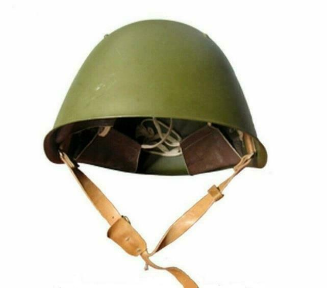Russian Military Soviet Army Helmet SSH68 Steel NOS Original Hat USSR Rare New