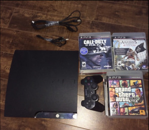 PS3 in perfect condition with 18 games names in description