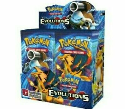 Pokemon XY Evolutions 36 Booster Box  Display OVP Sealed Neu Englisch Original!