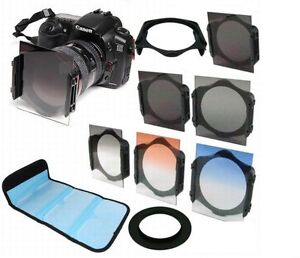ND2-ND4-ND-8-Graduated-Filter-Kit-67mm-Ring-adapter-For-Cokin-p-series