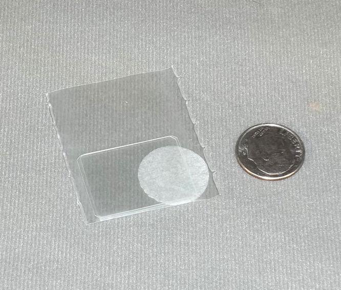 Two New 20 x 26mm Hemacytometer Cover Glass Slide Slips