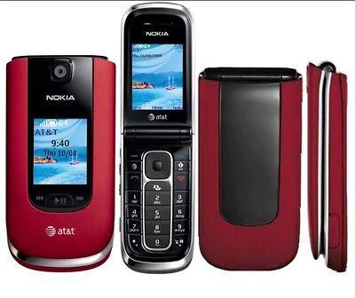 Nokia 6350 At T Unlocked Cellular 3G Gsm Flip Phone Worldwide