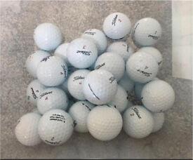 Titleist NXT Tour 25 Grade A golf balls