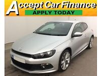 Volkswagen Scirocco 2.0TDI ( 140ps ) BlueMotionR Line FROM £77 PER WEEK