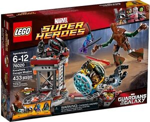 Lego Super Heroes 76020 Knowhere Escape Mission Neuf