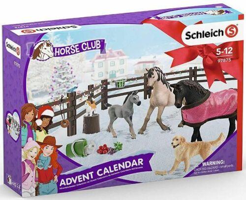 <>< Schleich HORSE WORLD ADVENT CALENDAR VERY NICE 2019   97875