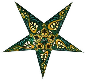 Green-Trance-Paper-Star-Lantern-lamp-Celtic-Green-patterned-cutouts-India
