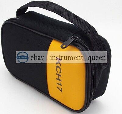 Soft Carrying Casebag For Fluke Hioki Sanwa Kyoritsu Victor Uni-t Multimeter