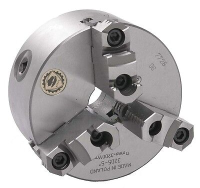 10 Bison 3 Jaw Lathe Chuck Plain Back Semi Steel 7-800-1000