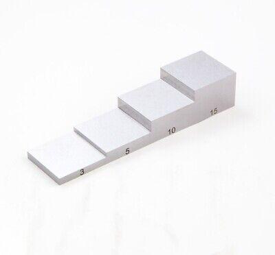 4 Steps Calibration Blocks Ultrasonic Thickness Gauge