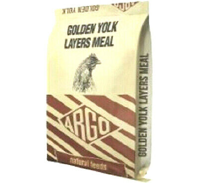 20kg ARGO GOLDEN YORK LAYERS MEAL - Wild Caged Birds Feeds bp Widlife vf Poultry