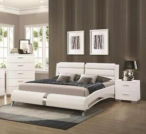 Queen exquisite contemporary designed Platform Bed