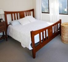 Solid Timber Queen Bed Ashmore Gold Coast City Preview