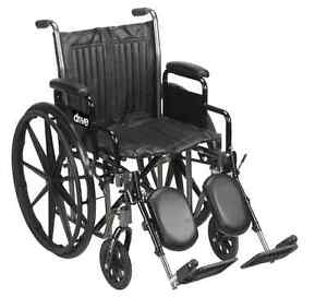 New Drive Medical Silver Sport 2 Wheelchair