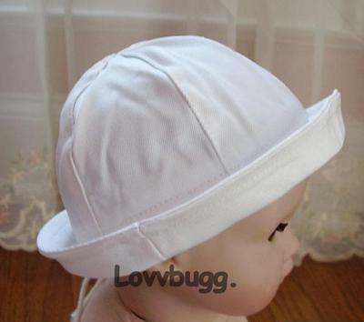 "Lovvbugg Sailor Hat for 18"" American Girl n 15"" Bitty Baby Doll Clothes"
