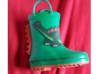 TODDLER SIZE 3/19 GREEN WELLIES