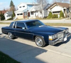 Beautiful 1983 Cadillac Coupe DeVille