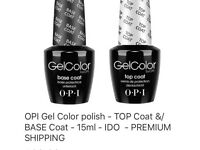 OPI Gel Nail Varnish x 3