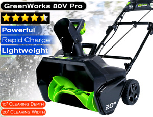 Greenworks Snowblower