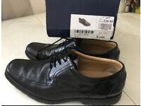 Black men's smart shoes size 9
