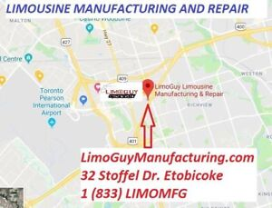 1(833)LimoMFG: Limousine Manufacturing and limo repair - LimoGuy