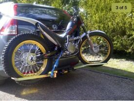 Dave cooper motorbike rack