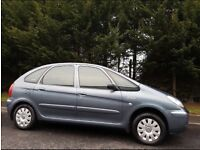 2009 CITROEN XSARA PICASSO 1.6 VTX TOP SPEC,LOW MILES,LONG MOT,2 KEYS