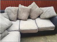 Fabric corner sofa can deliver