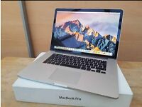 """Apple MacBook Pro 15"""" Retina display 2.3ghz i7 8GB flash drive Logic Pro X Final Cut Pro Adobe cs6"""