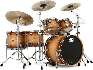DW Collector's Series Maple shells