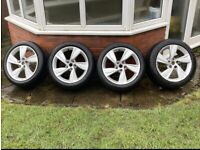 2017-21 Vauxhall Insignia B SRI VX line 4 x Alloy wheels with Great tyres