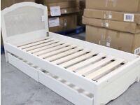 Loaf designer single bed frame New