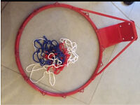 NEW Basketball hoop with net