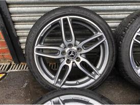 Mercedes cla Amg alloy wheels x4