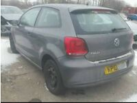 "2010 VW POLO LIGHT DAMAGED REPAIRABLE ""IDEAL FIRST CAR"" ""LIGHT DAMAGE"""