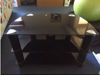 Perfect condition black tv stand