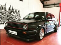 MK2 GOLF GTI 16V BBS EDITION SWAP TRANSPORTER T5 DEFNDER DISCOVER 3/4 Rs turbo cosworth