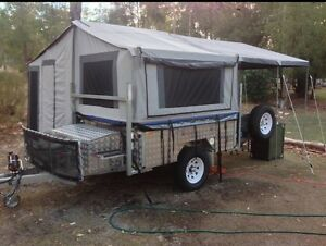 Camper trailer with independent suspension Langford Gosnells Area Preview