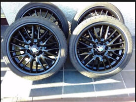 4 BMW Alloy wheels