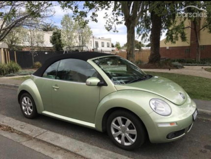 2009 Volkswagen Beetle Convertible Richmond Yarra Area Preview