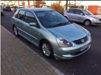 Honda Civic SE 2005 / 05 1.4 engine (it's not Ford Focus fiesta or polo Astra Vauxhall)