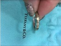 """Sterling silver """"Tiffany & co"""" rinng"""