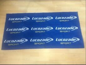 Lucozade Limited Edition Beach/bath/sports towel.