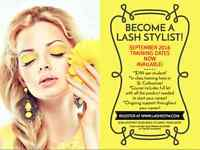 Eyelash Extension Training in St. Catharines September Classes!
