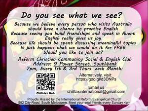 Practice your English Here Southbank Melbourne City Preview