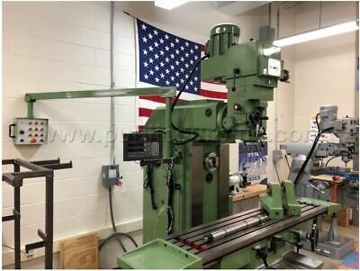 2015 Clausing Vertical Horizontal Universal Mill 2500qm 14 X 59 Very Low Hours